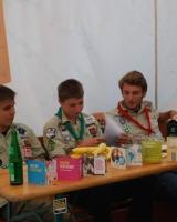 Fairtrade-Quiz auf dem Lagerfeuerabend der Wehebachthaler Thumbnail