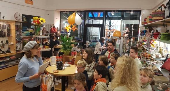 DPSG-Rohrbach-Saar – Besuch im Weltladen Thumbnail