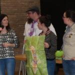Fairtrade Team Darmstadt bei der Vorstellung der Zwischenergebnisse